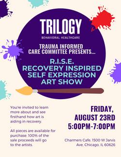 Trilogy Art Show (Graphic Design)