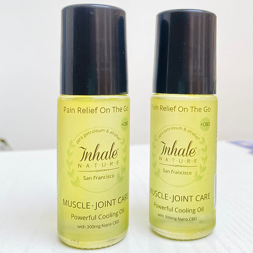 Muscle-Joint Care with nano CBD Roll-On: Inflammation and Pain Relief