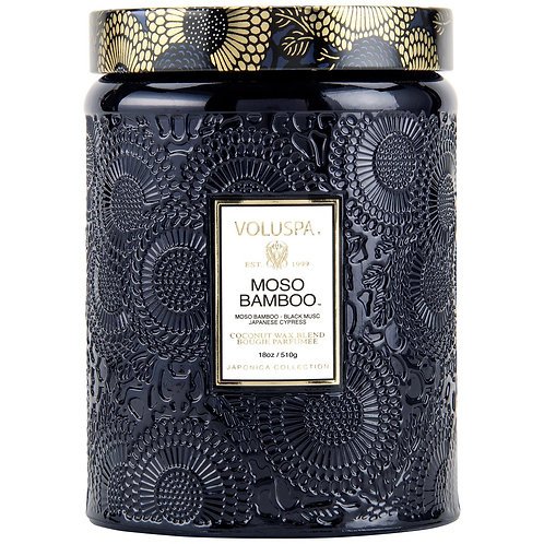 Moso Bamboo Voluspa Candle Large