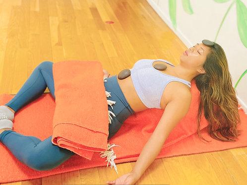 Yin Yoga with Hot Stones