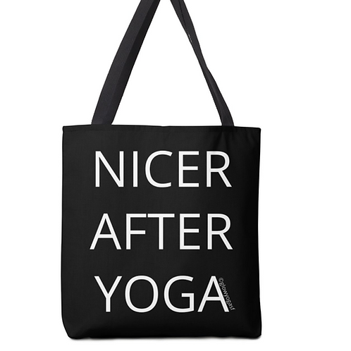 Nicer After Yoga Tote