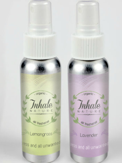 Lemongrass & Lavender Organic Mood - Linen - Shower Mist