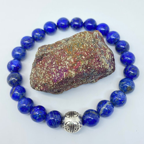 Royal Lapis Lazuli Bracelet