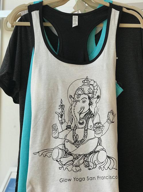 Ganesha Tank - B&W