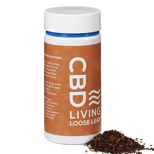 CBD Living Herbal Mango Loose Tea
