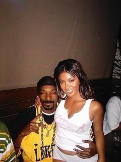 SNOOP DOGG AND MODEL NOREEN