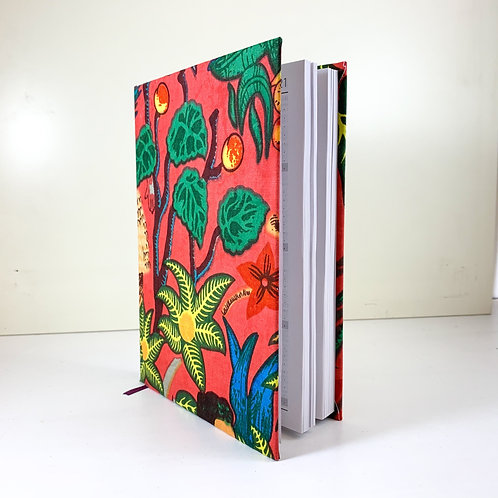 Frida Kahlo Diary 2021 Red 3 day view