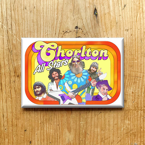 Chorlton All Stars Fridge Magnet