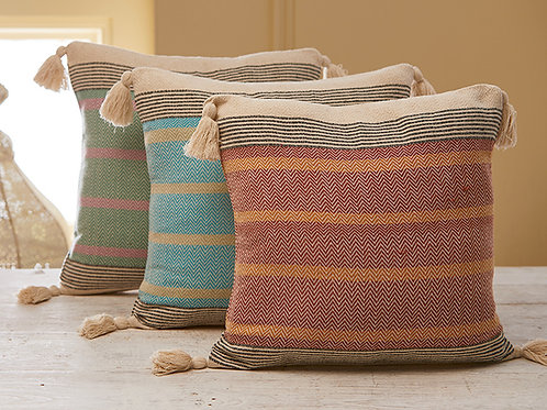 Malabar Striped Cushion