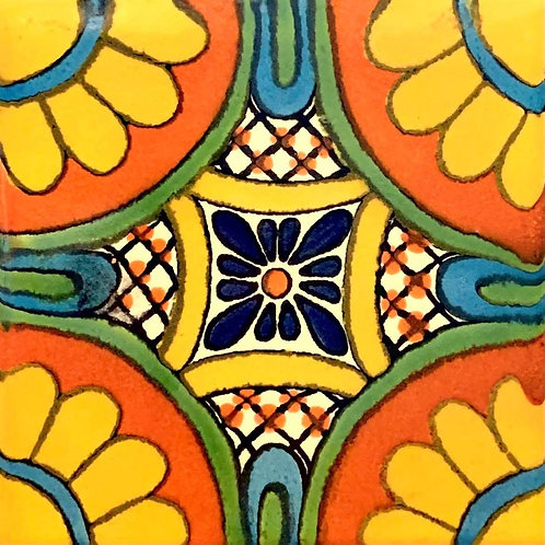 Mexican Tile Orange helios