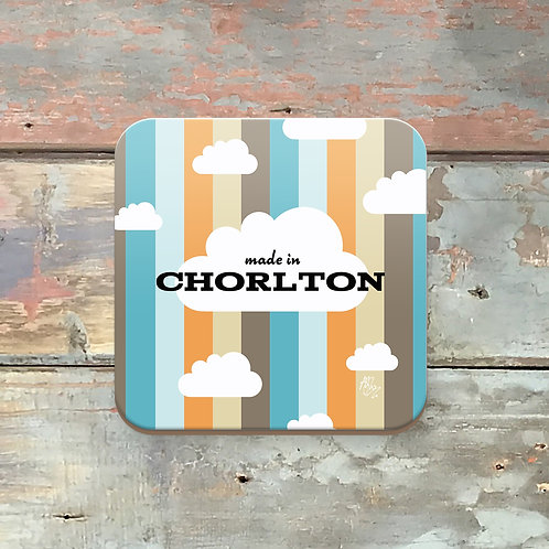 Made in Chorlton Coaster