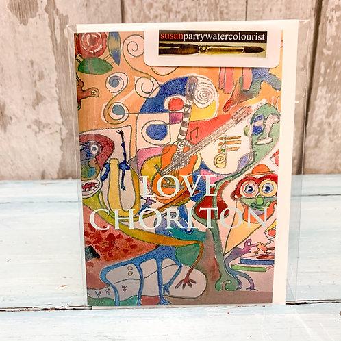 'Love Chorlton' Valentine's card 1