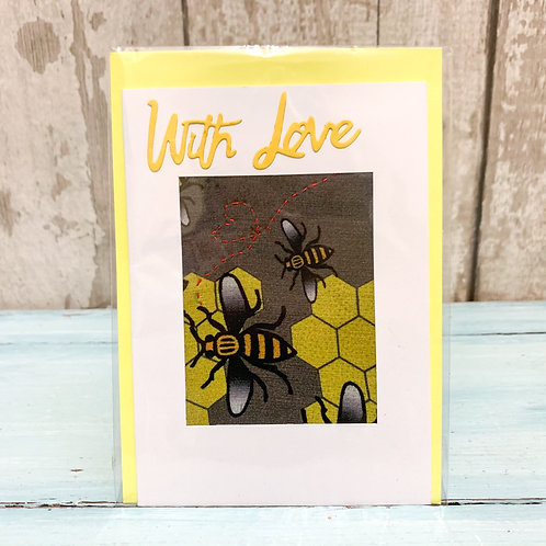 'With Love' Valentine's Card