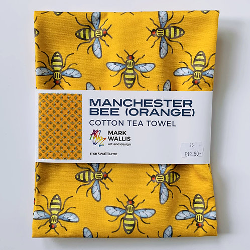 Manchester Bee Tea Towel