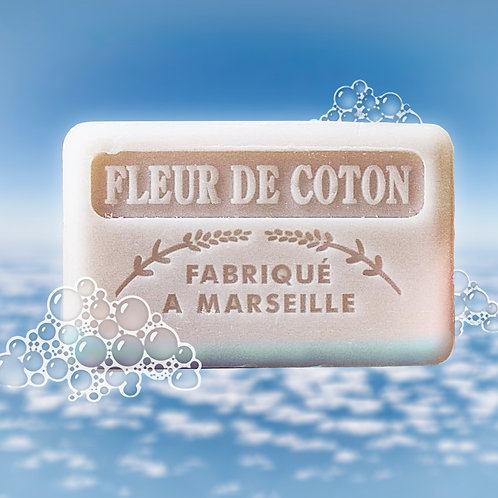 French Cotton Flower Soap