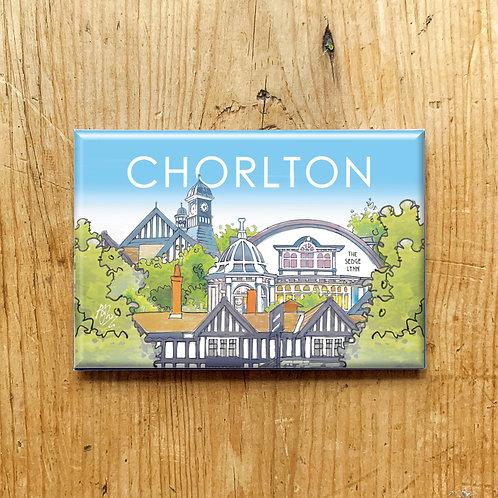 Chorlton Watercolour Fridge Magnet