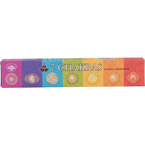 7 Chakras Incense Set