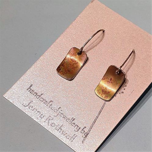 Autumn Fern Earrings