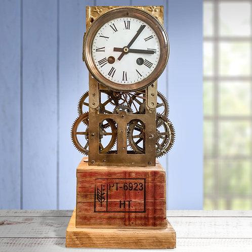 'Timewinder' Steampunk Handmade Clock