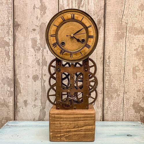 'Copper Moon' Steampunk Handmade Clock