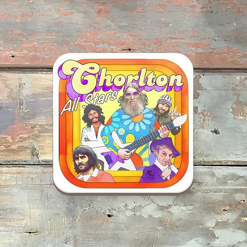 Chorlton All Stars Coaster