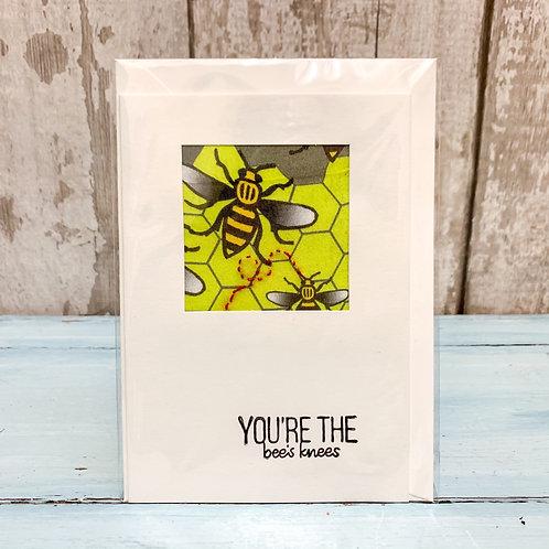 'Bee's Knees' Valentine's Card