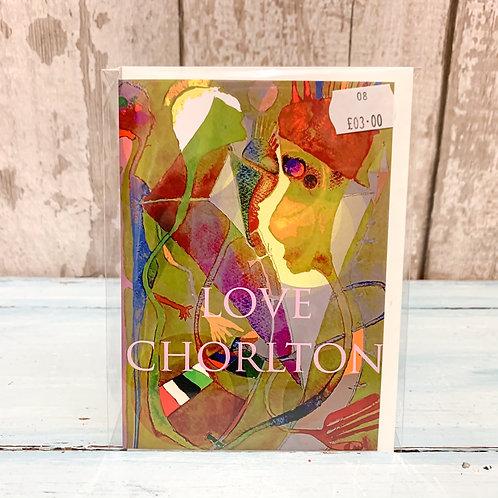 'Love Chorlton' Valentine's Card 4