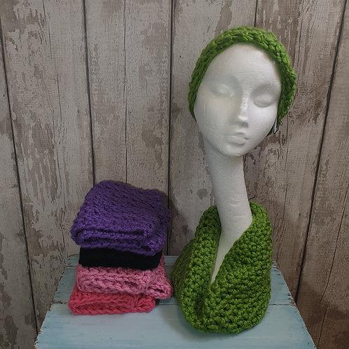 Chunky Hand Crochet Cowls