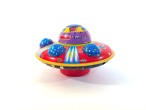 Flying Saucer Collectable Tin Toy