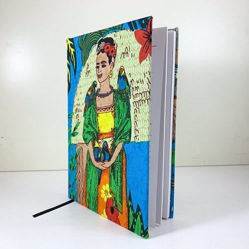 Frida Kahlo Diary 2021 Blue week view