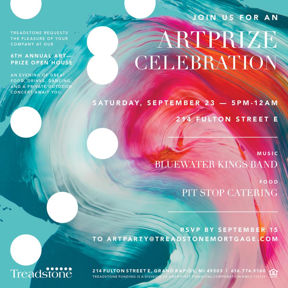 Treadstone ArtPrize Invite