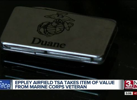 Marine gets money clip back after contacting Congressman Bacon's office