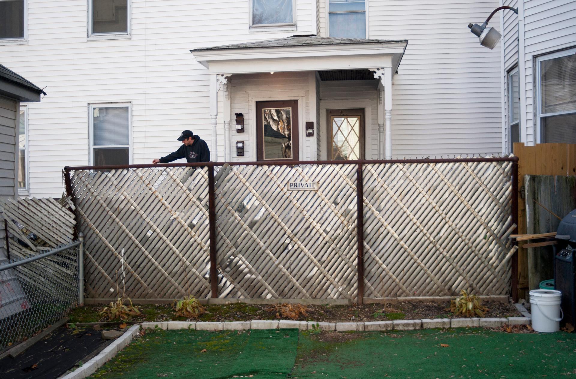 Aluminum Slat Fence © 1989