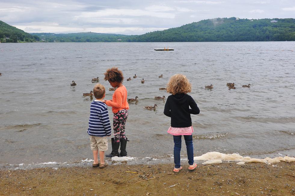 Kids at the Lake © 2018