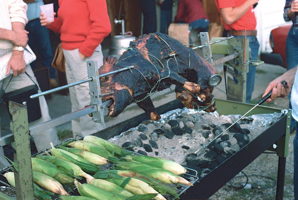 Pig Roast #3 © 1983