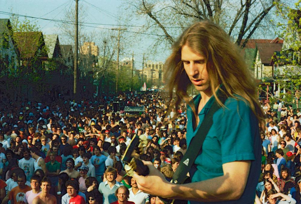 Mifflin St. Party Guitarist © 1983