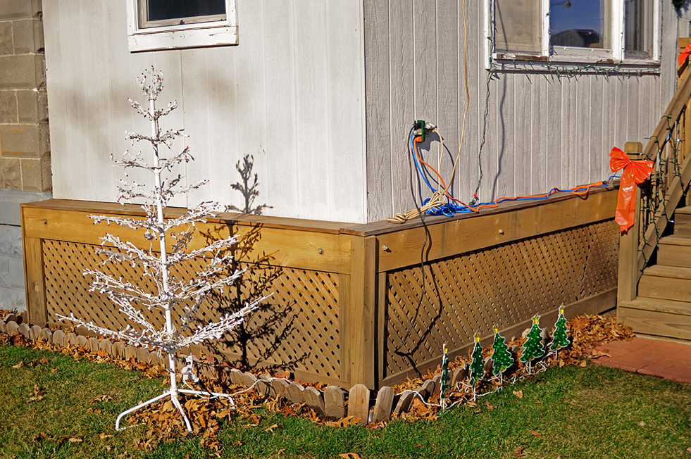 Christmas Trees & Eletrical Outlet