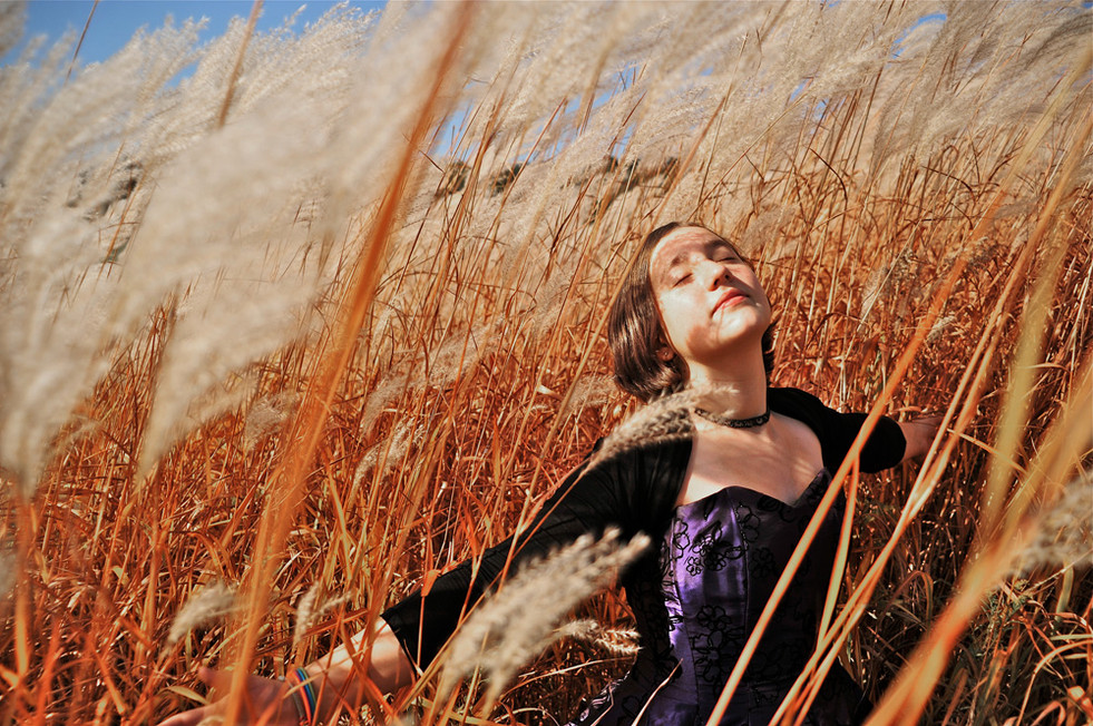Ayla in the Grass © 2012
