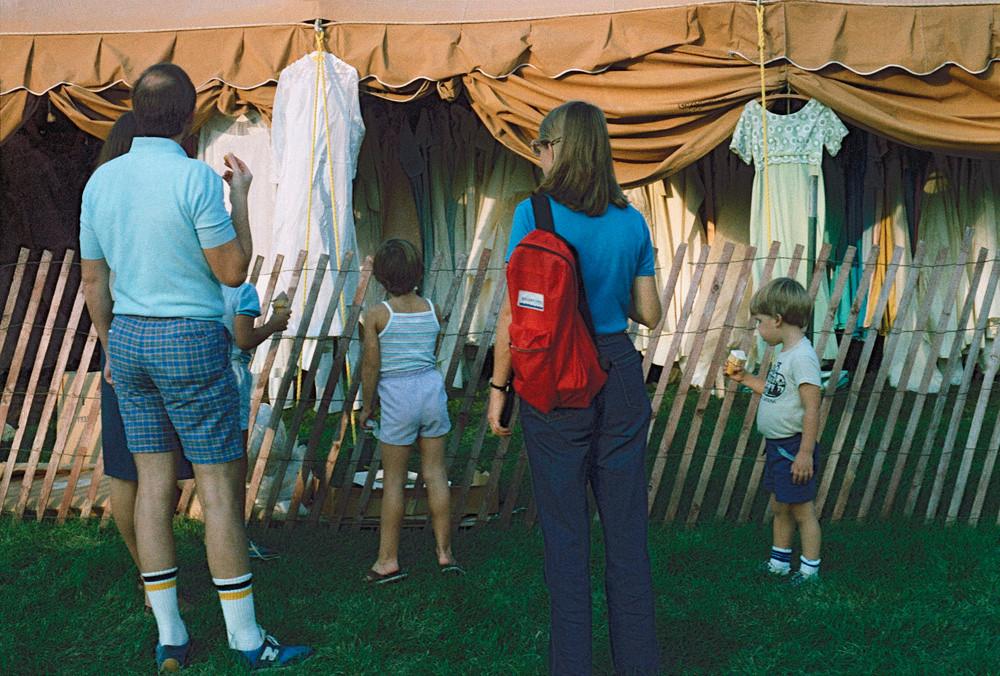 At the Bridal Tent © 1985