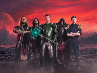 "GLORYHAMMER Announces Release Date for ""Legends From Beyond The Galactic Terrorvortex"""