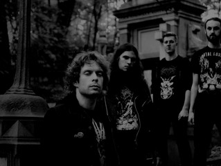 """RITES OF DAATH  Announce Their Debut """"Hexing Graves"""" EP."""