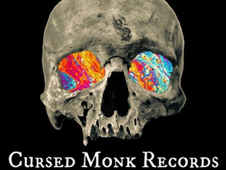 RADIO TAKE OVER! 'CURSED MONK RECORDS' LIVE ON CRANIUM TITANIUM, MONDAY 20th NOVEMBER.     I