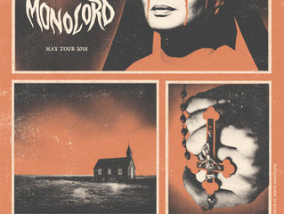 MONOLORD to tour UK and Ireland with Conan in May 2018