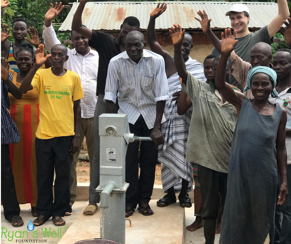 New Well at Abutonso Village, Ashanti Re