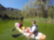 Kayak en el Embalse de Bolarque