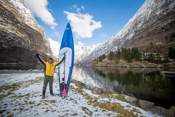 SUP en los fiordos noruegos, Descubre Sin Limites