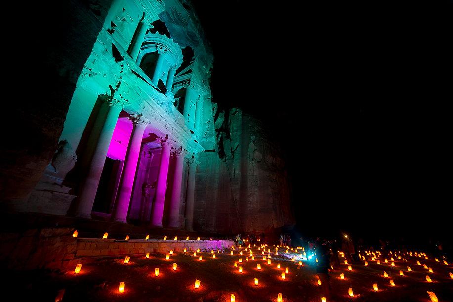 Petra by Night, Jordania por libre
