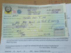 Autorización conducir en Tanzania