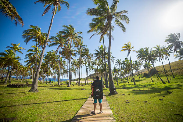Playa de Anakena, Isla de Pascua