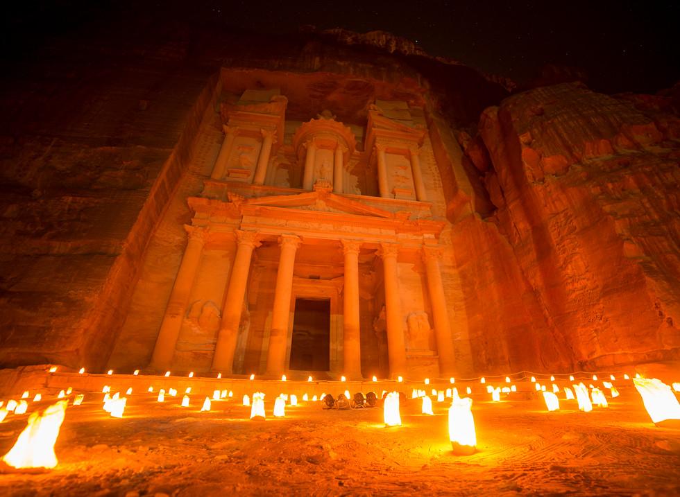 El Tesoro, Petra. Jordania